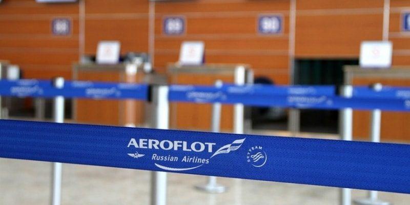 Пассажиропоток Аэрофлота на международных рейсах упал на 99%
